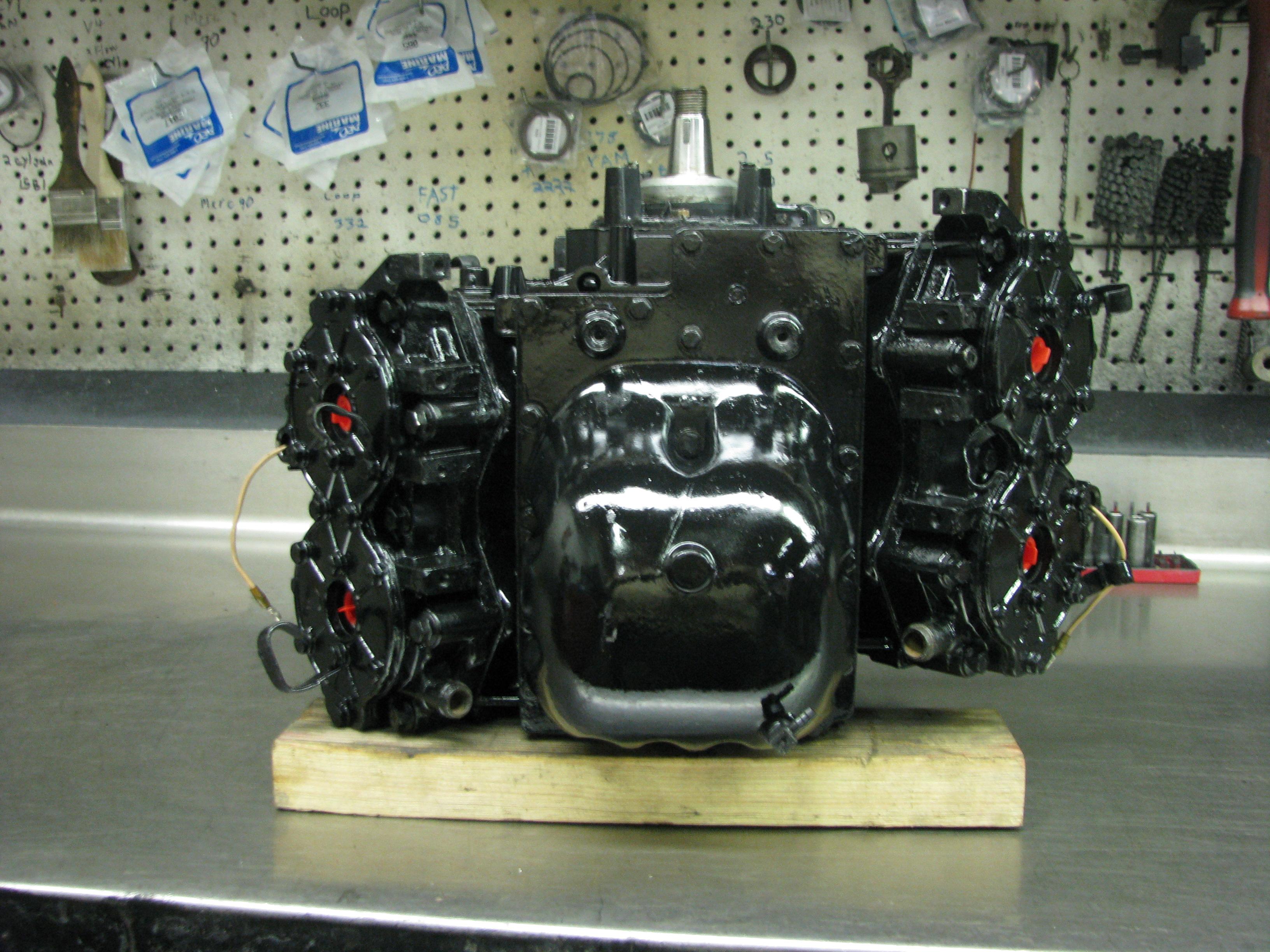 1991-1999 JOHNSON / EVINRUDE CROSSFLOW POWERHEADs 115 or 90 hp